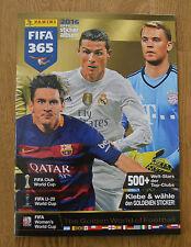 Panini fifa 365 sticker vacío álbum este álbum álbum The Golden World of Football