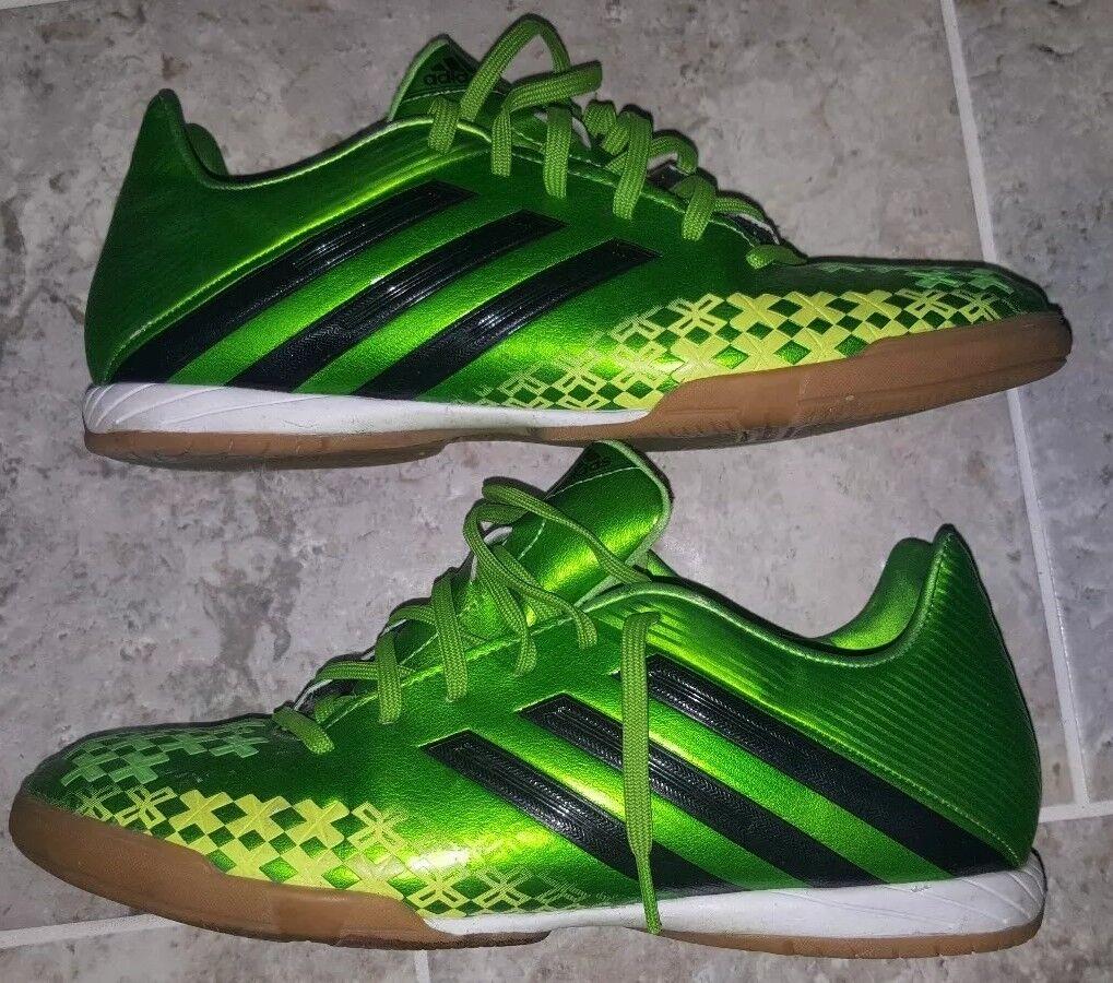 Adidas Predator Indoor Soccer shoes Men's Size US8 UK7.5 SWEET GREEN