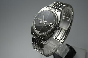 Vintage 1969 JAPAN SEIKO LORD MATIC WEEKDATER 5606-7050 23Jewels Automatic.