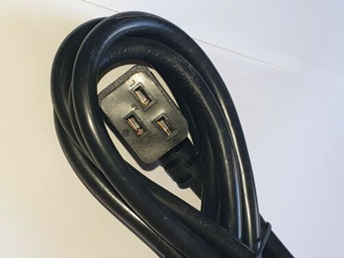 Precor,Cybex Technogym Treadmill Power Cable 13A 2.5m Fits Life Fitness