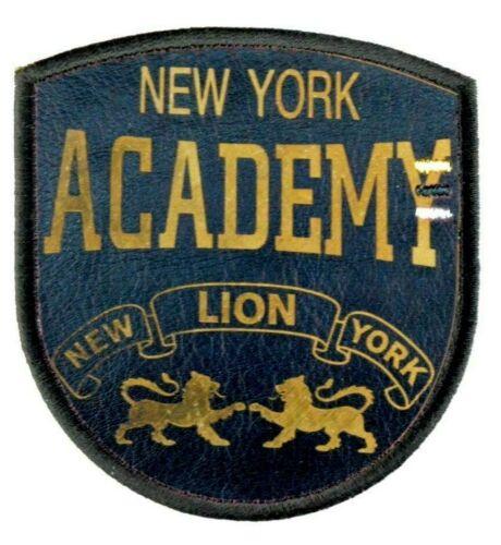 Kunstleder Applikation zum Aufbügeln Bügelbild 2-709 New York Academy