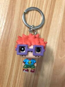 New-Rugrats-PVC-Keyring-Chuckie-Figure-Funko-POP-Pocket-Keychain-Without-Box