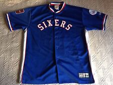 Shooting Top Warmup Jacket Philadelphia 76ers NBA Sixers Hardwood Majestic XXL