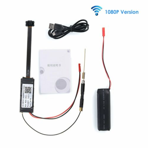 Mini HD 1080P Wireless WIFI IP Spy Camera Hidden DIY Module DV DVR NVR Nanny Cam