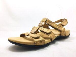 dc63c7604102 Vionic Amber Orthaheel Tan Cork Ankle Strap Sandals Women s Size 10 ...