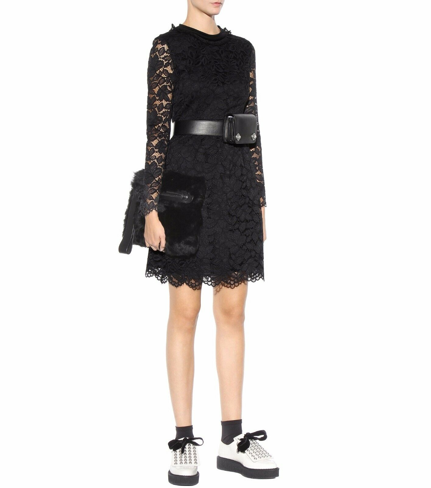 MARC BY MARC JACOBS 'Isabella' Lace Fit & & & Flare Dress ( Size 0) 8328d6