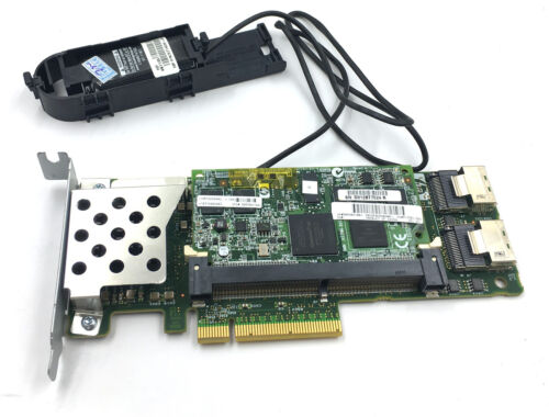 HP 572532-B21 Smart Array P410 1GB Controller+571436-002 Battery controller raid