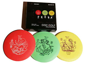 Disc Golf Set Frisbee Flying Strandsport Yikun B - WARE !!!!