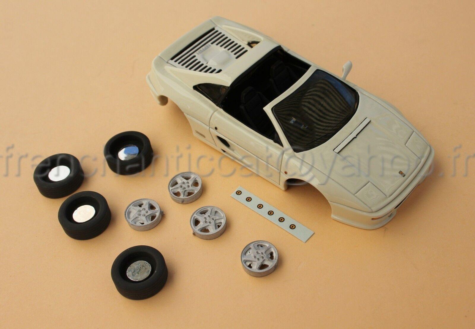 Lu voiture ferrari f355 collector 355 off blanc  1 43 heco models miniature  nous fournissons le meilleur