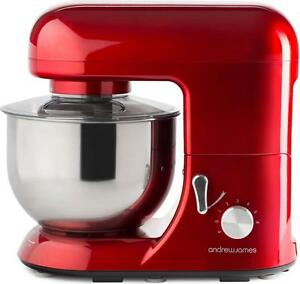 Andrew-James-5-2L-Electric-Food-Stand-Mixer-amp-Food-Guard-In-Stunning-Red-800W