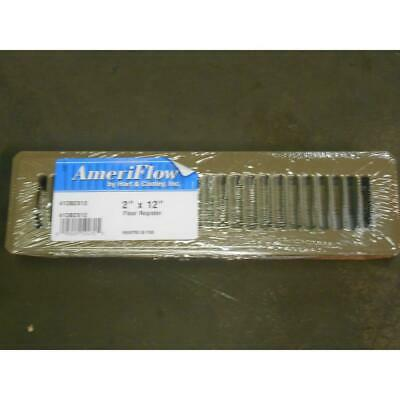 Ameri Flow 413b2x12 2 X 12 Floor Register Ebay