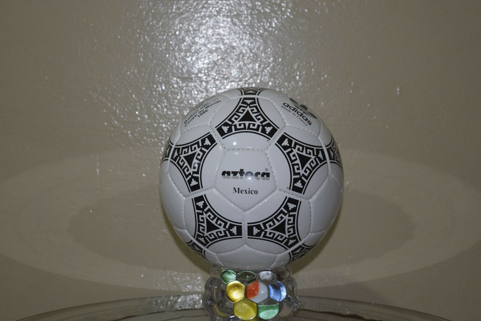 NEW ADIDAS AZTECA MEXICO  WORLD CUP CUP CUP FOOTBALL 1986 (MADE IN FRANCE) 05564a