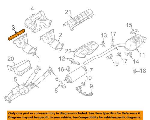 VOLVO OEM 08-15 XC70 Exhaust-Manifold Gasket 31293288