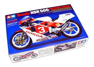 Tamiya-Motorcycle-Model-1-12-Motorbike-Honda-NSR-500-Scale-Hobby-14099