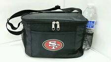 NFL San Francisco 49ers Lunch Bag - Insulated Box Tote - 6-Pack Cooler