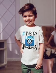 T-shirt//bodysuit childrens//kids//baby//toddler Insta famous