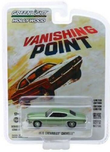 Chevrolet Chevelle  VANISHING POINT  Limitiert  Greenlight  Hollywood  1:64  OVP