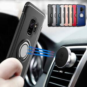 For-Samsung-S9-Plus-J3-J5-J7-2017-Hybrid-Magnetic-Ring-Holder-Stand-Case-Cover