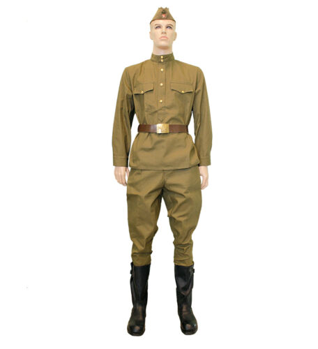 USSR ww2 wwii gimnasterka uniform suit military olive camouflage ARMY Russian