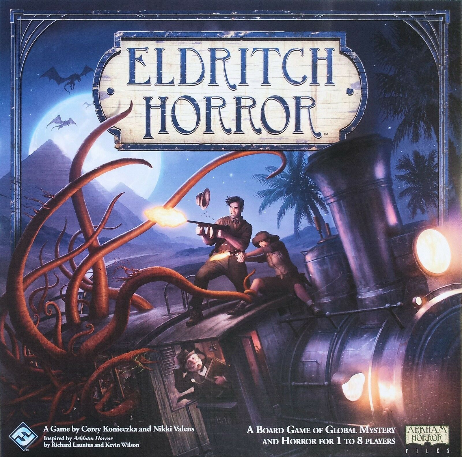 Gespenstische horror - fantasy flight games - neues brettspiel