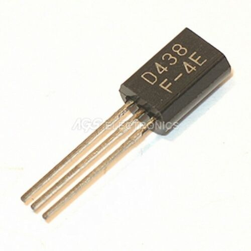 2SD438-2SD 438 Transistor SI-N 100V 0.7A 0.9W 100MH