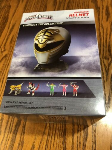 Bandai Saban's Mighty Morphin Power Rangers Red Ranger Helmet Legacy Collection