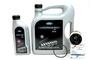 Ford-Formula-F-5W30-Motoroel-14E9EC-6-Liter-Original-Ford-Olfilter-1717510