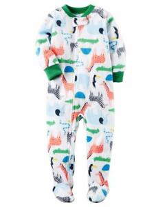 2762a2cee CARTER S® Baby Boy 18M Safari Footed Pajama or Fleece Sleeper NWT ...