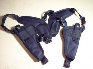 Details about Vertical DOUBLE Shoulder Holster PIETTA 1858 REMINGTON NEW  ARMY SHERIFF 5-1/2