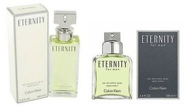 Calvin Klein Eternity for Men or Women Perfume 3.4 oz