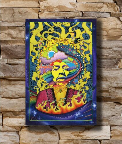 Hot Psychedelic Trippy New Art Poster 40 12x18 24x36 T-374