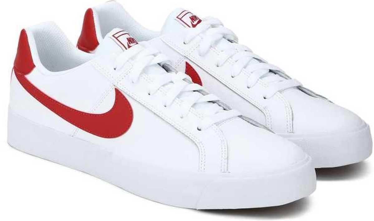 Nike Men's Court Court Court Royale AC White University Red Gum Sneakers b8db2f