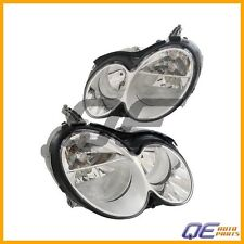 Set of Left And Right Mercedes W209 CLK350 CLK320 Headlights Assembly OEM