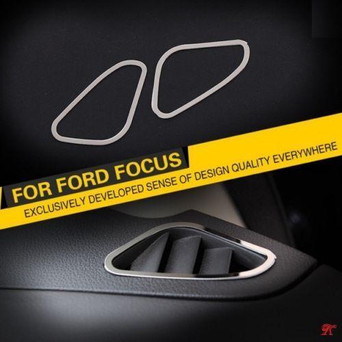 FORD FOCUS 2 MK2 Edelstahl Blende für Lüftung Rahmen TDCI ST Chrom 2005-2013