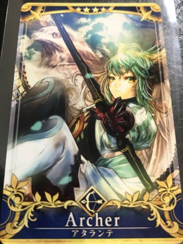 Fate Grand Order FGO Arcade Atalanta Final Form Card