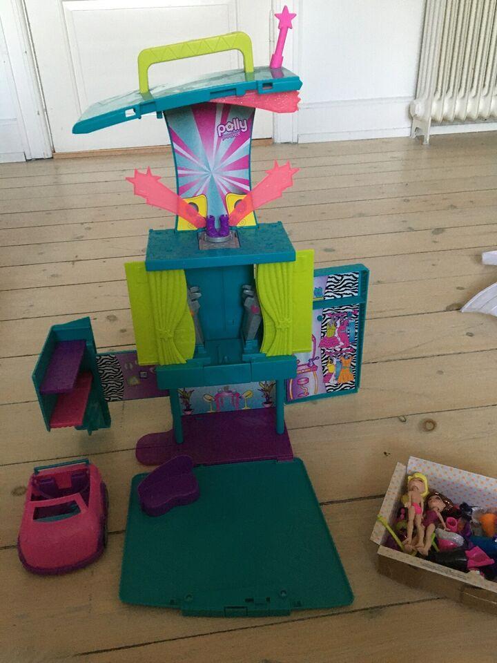 Polly Pocket, Polly Pocket hus + dukker + tilbehør