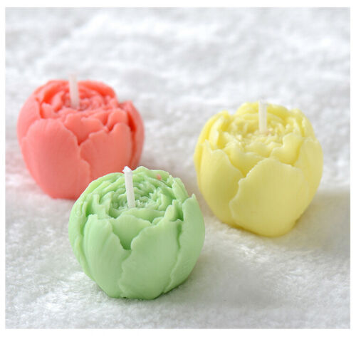 Nicole 3D Handmade Candle Mold DIY Flower Silicone Mould Home Decorations