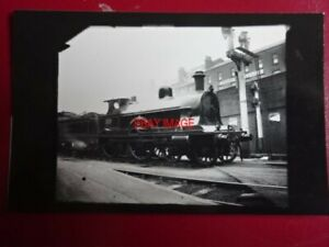 PHOTO  DARKROOM - LNWR RENOWN CLASS LOCO NO 1910 CAVALIER AT WALSALL C1904