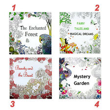 Sweet Painted Coloring Book Adult Children Graffiti Secret Garden English Books