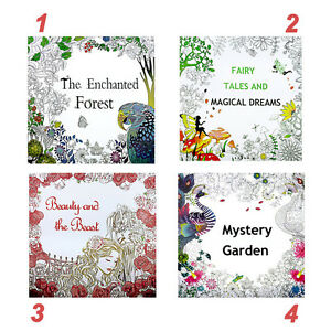 Details About Sweet Painted Coloring Book Adult Children Graffiti Secret Garden English Books