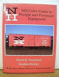 NH-New-Haven-Railroad-Color-Guide-to-Freight-and-Passenger-Equipment-HB-DJ