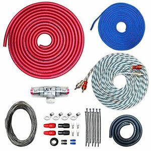 CT Sounds CCA Car Amp Kit 4 AWG 4GA REF Series Wire Installation Amplifier Kit