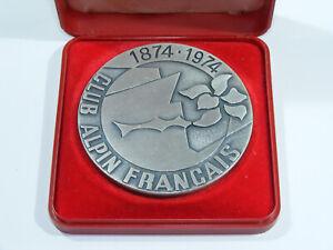Médaille CLUB ALPIN FRANCAIS 1874-1974 Centième anniversaire Pichard Bijoutier