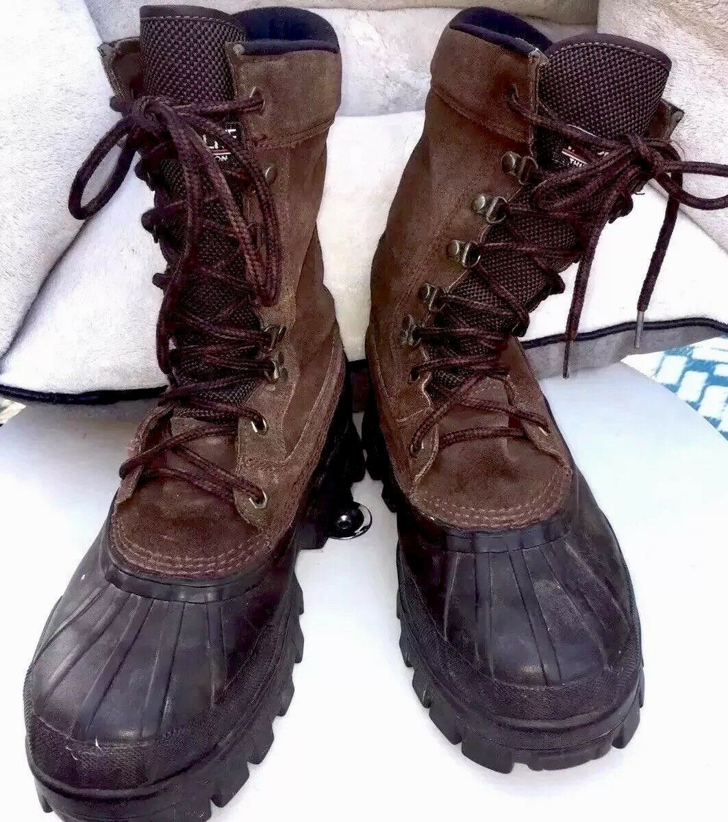 Red Ball Boots By Lacrosse Hunting Hiking Men's 7M Thermolite Warm Insulation