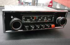 BLAUPUNKT Frankfurt - Baujahr 1976 Oldtimer Autoradio m. Chromblende TOP Zustand