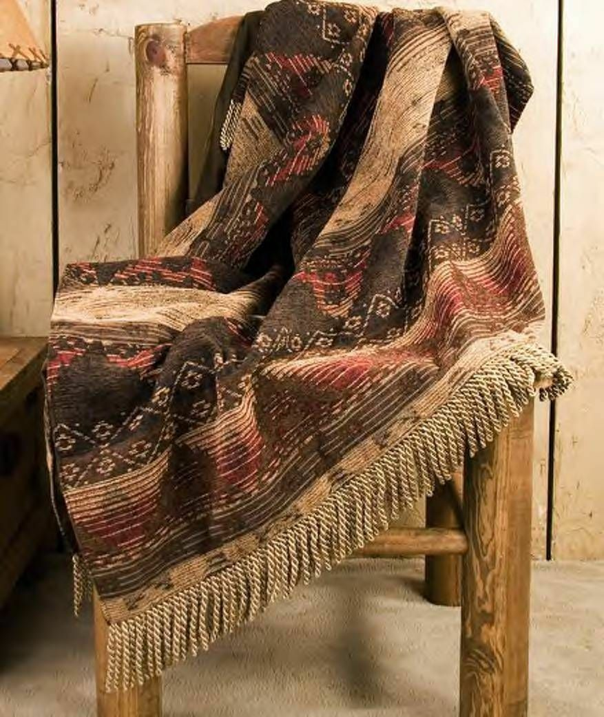 Designer Southwest Throw Blanket 50 x60  -Del Sierra