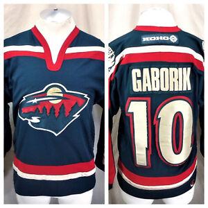sale retailer 9b6ba ba596 Details about Vintage KOHO Marian Gaborik #10 Minnesota Wild (Small)  Stitched NHL Jersey Green