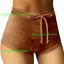 Sexy-Women-Summer-Pants-Stylish-High-Waist-Shorts-Short-Belt-Beach-Trousers thumbnail 14