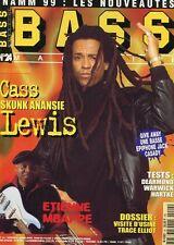 Bass #24 -Cass LEWIS- Skunk Anansie, Etienne Mbappe, visite d'usine Trace Elliot