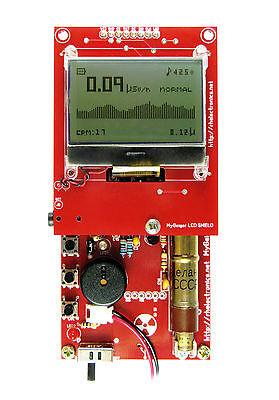 SOLDERED MyGeiger Dosimeter DIY Geiger Counter Kit w/USB and SBM-20 / STS-5 Tube